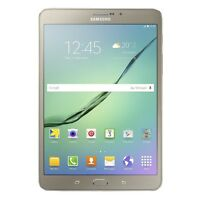 SAMSUNG GALAXY TAB S2 2016 T719 8.0 32GB GOLD ANDROID TABLET PC OHNE VERTRAG 4G