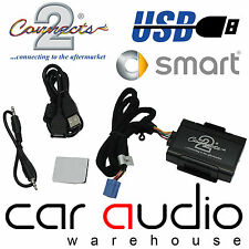 Connects2 CTAMSUSB001 Smart ForTwo 99> USB SD AUX IN Car Interface Adaptor