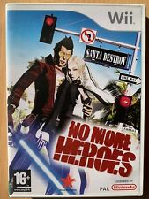 No More Heroes ~ Nintendo Wii ~ Violent Action Game Videogame Pegi 16