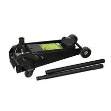 Cric Hydraulique 3 Tonnes à pédale Rouleur Roulant    Professionnel    H 485 mm