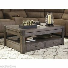 Ashley Furniture Contemporary Coffee Tables For Sale EBay - Ashley mallacar coffee table