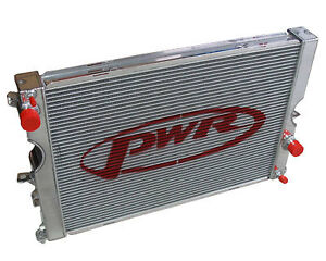 PWR ALUMINIUM RADIATOR LAND ROVER DISCOVERY 2 TD5 '98-'04 55mm CORE PWR6851