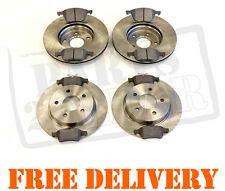 FORD FOCUS Mk2 1.8 2.0 TDCi FRONT & REAR BRAKE DISCS & PADS SET 2004-2011
