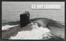 USA - 1999 U.S. NAVY SUBMARINES $9.80 PRESTIGE BOOKLET MNH