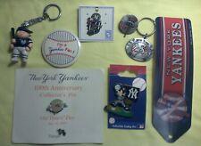 New York Yankees Pins & Key Chain Lot