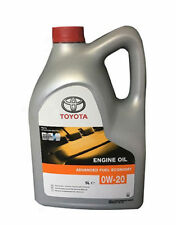 Toyota Hybrid 0W-20 Synthetic Engine Motor Oil 08880-83265 5L