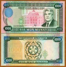 Turkmenistan, 1000 Manat, 1995, P-8, UNC
