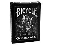 Lot 2 Deck Bicycle Guardians Playing Cards by Theory11 Black Magic Cardistry