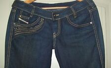 Diesel  Jeans Pants  Ryoth Boot Cut Made In Italy-WASH OO8AB SIZE W-28- L-30 NEW
