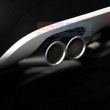 2006-2010 BMW E90 E92 325 328 i 3 Serie Chrome Muffler Exhaust Tail Pipe Tip