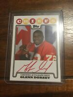 2008 Topps Rookie Premiere Rookie Red Ink Glenn Dorsey Chiefs