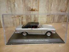 Modellino DIE CAST Hachette Story Collection Fiat 2300 S Cabriolet 1962 1/43