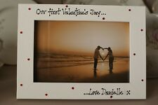 Personalised Photo Frame by Filly Folly! Valentine's Day Gift! Any Wording!
