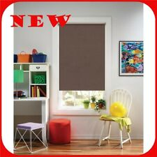 """Bali Cut-to-Size Chocolate Cordless Roller Shade 73.25"""" x 72"""" R27"""