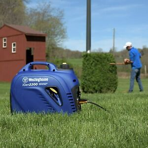 Westinghouse iGen2200 Portable Inverter Generator 1800 Rated & 2200 Peak...
