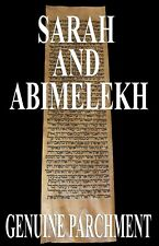 TORAH SCROLL BIBLE VELLUM MANUSCRIPT LEAF 350 YRS TUNISIA Genesis 19:37-20:17