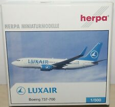 Boeing 737-700 Luxair 514699 1/500 Herpa