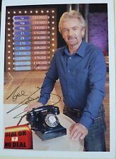 Noel Edmonds Television Presenter Deal or no Deal  Hand Signed  Photograph 6 x 4