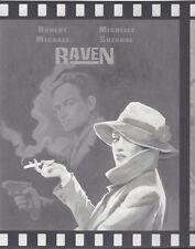 Fantasy Movie Posters in Black & White Wallpaper Border 687551