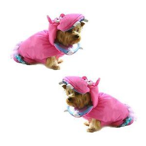 High Quality Dog Costume PINK HIPPOPOTAMUS Dress Dogs as Hippos Wild Zoo Animal