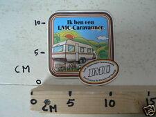 STICKER,DECAL LMC LORD-MUNSTERLAND CARAVAN IK BEN EEN LMC CARAVANNER