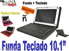 """FUNDA CON TECLADO TABLET CHUWI HI10   10.1"""" funda TECLADO Español"""