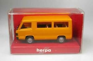Herpa no. 4092 Mercedes Bus 100 orange 1:87 MIB