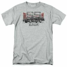 Chevrolet El Camino SS Mountains T Shirt Mens Licensed Car Tee Chevy Sport Gray