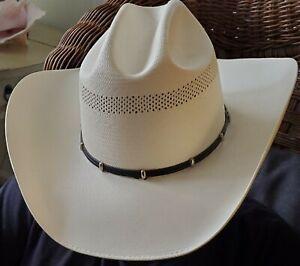Wrangler Cowboy Hat 6 7/8 Natural Color