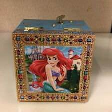 Disney Parks Little Mermaid Musical Jewelry Box With Mirror