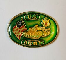 US Army - Tank - United States USAF - Collectors enamel Pin Badge ##C