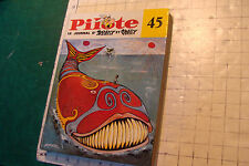 PILOTE le journal d'Asterix et Obelix #45 bound hardcover in FRENCH torn spine