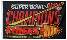 Kansas City Chiefs Super Bowl Flag Super Bowl 54 Chiefs Kingdom Kingdom 3x5 Flag