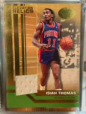 2007/08 Bowman Elevation Relics Green Isiah Thomas Jersey Numbered 11/29 1/1