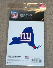 NEW YORK GIANTS NFL FOOTBALL SPORTS HOME STATE SMALL DECAL