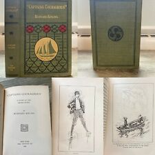 Rudyard Kipling Captains Courageous Grand Banks First US Edition 1st Ed 1897