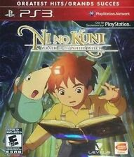 Ni no Kuni: Wrath of the White Witch USED SEALED (Sony Playstation 3) PS PS3