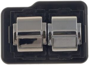 82-88 BUICK OLDS CADILLAC PONTIAC 2 BUTTON ARMREST MOUNTED DRIVER WINDOW SWITCH