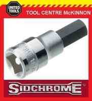 "SIDCHROME SCMT14282 1/2"" DRIVE METRIC 8mm IN-HEX / ALLEN KEY SOCKET"
