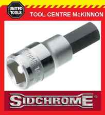 "SIDCHROME SCMT14284 1/2"" DRIVE METRIC 12mm IN-HEX / ALLEN KEY SOCKET"