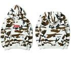 Brand New 2017 Supreme FW16 Box Logo Sweater Snow Hoody Brown Camo CDG