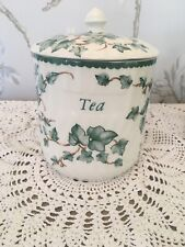 Country Vine Tea Caddy  * Other Items Available
