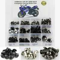 Fit For 2009-2014 Yamaha YZF-R1 2012 2013 Complete Fairing Bolts Body Screws Kit