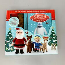 Rudolph the Red Nosed Reindeer Crochet Kit - Make 12 Characters - New Christmas