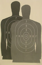 """Ht Hostage Situational Target, B-27M Style [23"""" x 35""""] (15 targets)"""