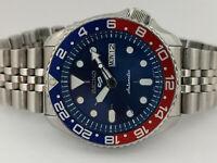 SEIKO DIVER 7S26-0020 SKX007 BLUE SPORTS SERIES MOD AUTOMATIC WATCH 761218