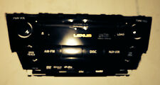 LEXUS IS250 IS350 IS F 6  CD M.L. DVD CHANGER RADIO XM FOR NAVIGATION 2010 - 12