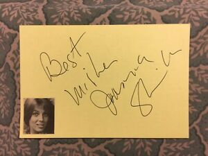 Joanna Shimkus - The Uninvited - All About Loving - Yard Sale - Autographed 1982