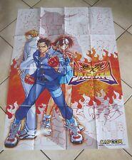 2000 Capcom Project Justice Poster
