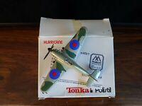 "Polistil//Tonka  Hurricane Airplane Factory Sealed Box 1983 Die Cast Metal 4/"""